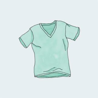 green t-shirt icon